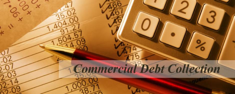Commercial debt recovery construction industry MWA
